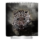 Un Gros Chat A Adopter Shower Curtain