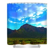 Unaweep Mountains  Shower Curtain