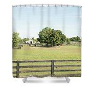 Unbridled Farm Shower Curtain