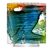 Uncharted Terrian Shower Curtain