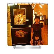 Unclad 2007 Exhibit Shower Curtain