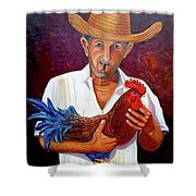 Uncle Frank 2 Shower Curtain