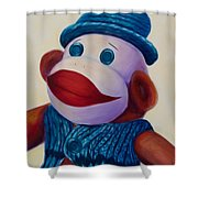 Uncle Frank Shower Curtain