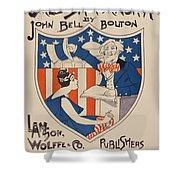 Uncle Sam's Church Shower Curtain