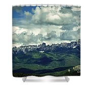 Uncompahgre Colorado Alpine Shower Curtain