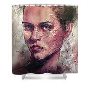 Uncovered Beauty Shower Curtain