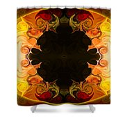 Undecided Bliss Abstract Healing Artwork By Omaste Witkowski Shower Curtain