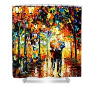Under One Umbrella Shower Curtain