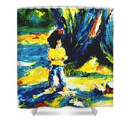 Under The Banyan Tree#201 Shower Curtain