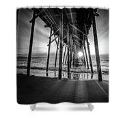 Under The Boardwalk Bw 1 Shower Curtain