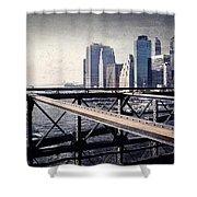 Under The Brooklyn Bridge Shower Curtain