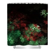 Under The Forest Canopy Shower Curtain