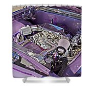 Under The Hood 66 Impala_1b Shower Curtain