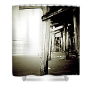 Under The Pier Extreme Shower Curtain