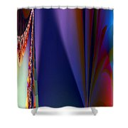 Under The Rainbow Shower Curtain