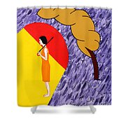 Under The Shelter Of Your Love Shower Curtain