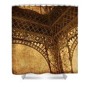 Under Tower Shower Curtain