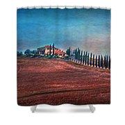Under Tuscan Sun Shower Curtain