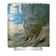 Under Venice Skies Shower Curtain
