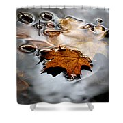 Under Water Fall Shower Curtain