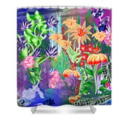 Under Water Shower Curtain