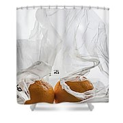 Under Wraps IIi  Shower Curtain