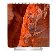 Underground Desert Lights Shower Curtain