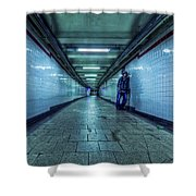 Underground Inhabitants Shower Curtain