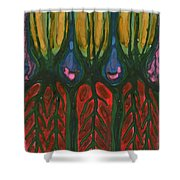 Underground Life Shower Curtain