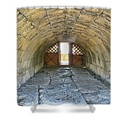 Underground Passage Shower Curtain