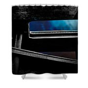 Los Angeles Underpass Shower Curtain