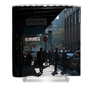Underpassage Shower Curtain by Joanna Madloch