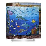 Undersea Friends Shower Curtain