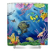 Undersea Garden Shower Curtain