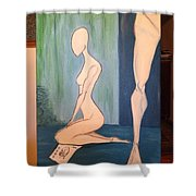 Understanding You Have Left Shower Curtain