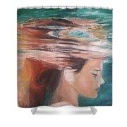Underwater Dream  Shower Curtain