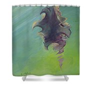 Underwater Glow Shower Curtain