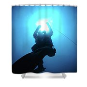 Underwater Photography Shower Curtain