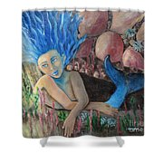 Underwater Wondering Shower Curtain