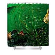 Underwater Wonderland  Diving The Reef Series. Shower Curtain