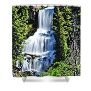 Undine Falls Shower Curtain