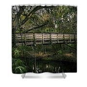 Undisturbed By Time Shower Curtain
