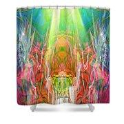 Unelanuhi-sungoddess Shower Curtain
