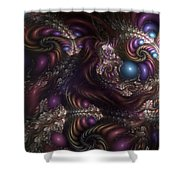Unfathomable Syncretism Shower Curtain