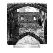 Unfinished Church Shower Curtain