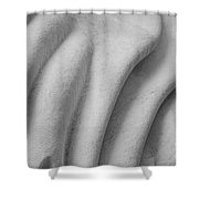 Unfolding And Enfolding - Iv Shower Curtain