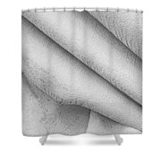 Unfolding And Enfolding -- Vii Shower Curtain