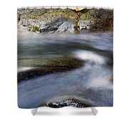 Unhurried Shower Curtain