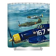 Unidentified Aircraft Shower Curtain