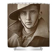 Unidentified Soldier Of The First Aif Shower Curtain